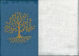 Lebensbaum Blau + Creme