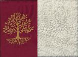 Lebensbaum Rot + Baumwollplüsch