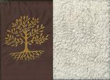 Lebensbaum Braun + Baumwollplüsch