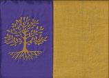 Lebensbaum Lila + Ockergelb