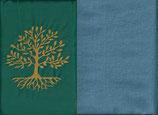 Lebensbaum Grün + Schwedenblau