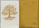 Lebensbaum Naturweiß + Ockergelb
