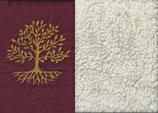 Lebensbaum Bordeaux + Baumwollplüsch