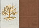 Lebensbaum Naturweiß + Hellrost
