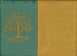 Lebensbaum Mintgrün + Ockergelb