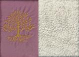 Lebensbaum Altrosa + Baumwollplüsch