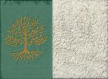 Lebensbaum Mintgrün + Baumwollplüsch