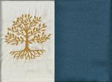 Lebensbaum Naturweiß + Rauchblau