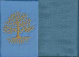 Lebensbaum  Hellblau + Schwedenblau
