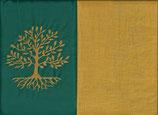 Lebensbaum Grün + Ockergelb
