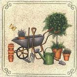 Ambiente Papierservietten Gardening Tools