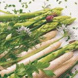 Paper + Design Papierservietten It's asparagus time