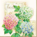 Ambiente Papierservietten Hortensia