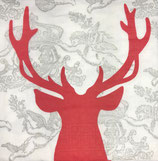 ppd Papierservietten Royal Deer Red (33)