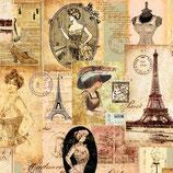 Ambiente Papierservietten Madame a Paris