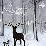 Räder Winterzeit Papierservietten Hirsch