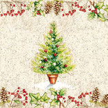 Ambiente Papierservietten Tree & Wreath