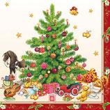 Ambiente Papierservietten Nostalgic Christmas Tree