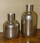 Vase Aluminium geprägt
