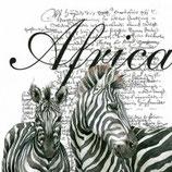 Ambiente Papierservietten Africa White