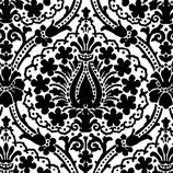 Ambiente Papierservietten Jaipur Black