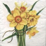 Ambiente Papierservietten Bouquet de Narcisses