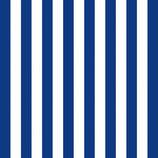 Ambiente Papierservietten Stripes Navy Blue