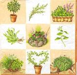 Ambiente Papierservietten Herbs