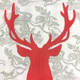 ppd Papierservietten Royal Deer Red (25)