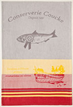 """Geschirrtuch """"Conserve Sardine 1"""""""