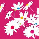 Ambiente Papierservietten Blooming Dots Magenta