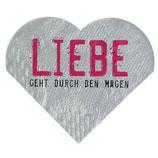 """Räder Love Edition Herz Servietten """"Liebe geht durch den Magen"""""""