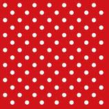 Ambiente  Papierservietten Dots Red