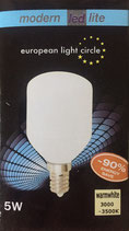 LED Leuchtmittel E14 5W Warmweiß