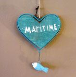 Hänger maritimes Herz