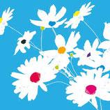 Ambiente Papierservietten Blooming Dots Blue