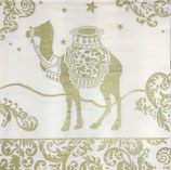 ppd Papierservietten Oriental Dream Gold