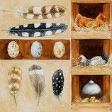 Ambiente Papierservietten Poultry Unit