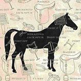 Ambiente Papierservietten Horse Classics Cream