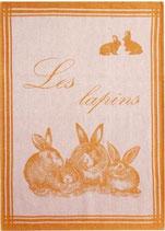 "Geschirrtuch ""Les Lapins PJ"""