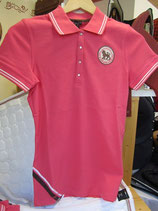 "Cavalier Polo Shirt ""Lion"", pink"