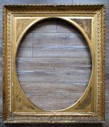 Bilderrahmen alt vergoldet Portrait-, Spiegel- oder Wand- Rahmen antik museal Antiquität