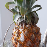 Ananas in Silber