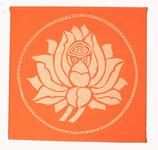 "Kraft-Bild ""Lotus"" Gr.S"