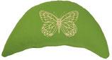 "Designer Reisemond-Kissen ""Butterfly"" kiwi"