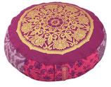 """Designer Meditationskissen Gr.XXS  """"Lotus Kreis - Purple"""""""