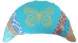 "Designer Halbmond Luxus ""Türkis Butterfly"""