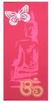 """Kraft-Bild """"Neon Buddha"""" fuchsia"""