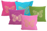 """Designer Sofa-Kissen """"Butterfly"""" gross"""