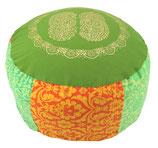 "Designer Bodensitzkissen ""Green India"""